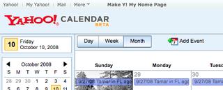 Illustration for article titled Yahoo Calendar Beta on Track to Challenge Google Cal