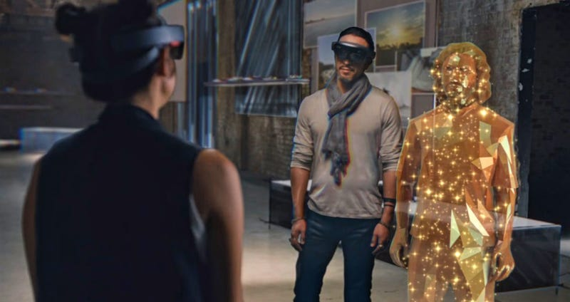 Illustration for article titled Microsoft Begins New Era of Mixed Reality With Windows Holographic