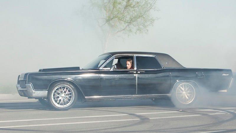 Cruising Bob S Big Boy In Dax Shepard S 650 Hp Lincoln