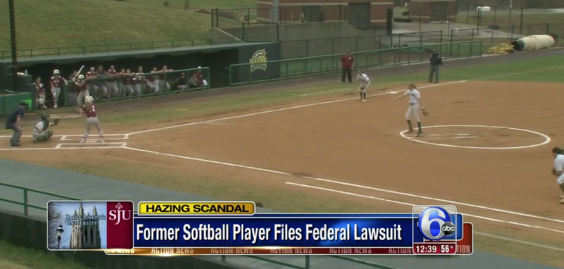 Illustration for article titled Lawsuit: Softball Hazing Drove Player To Suicidal Thoughts