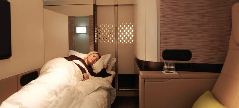 Illustration for article titled Etihad's New 'Residence' First Class Will Make You Insanely Jealous