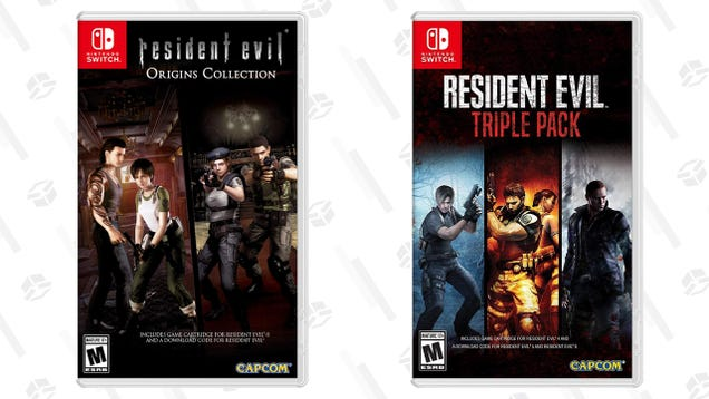 Catch up on the Resident Evil Series on the Go With a Sale on the Switch Collections