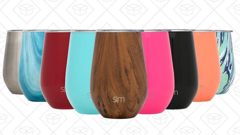 Simple Modern Spirit 12 Ounce Wine Tumblers | $14 | Amazon
