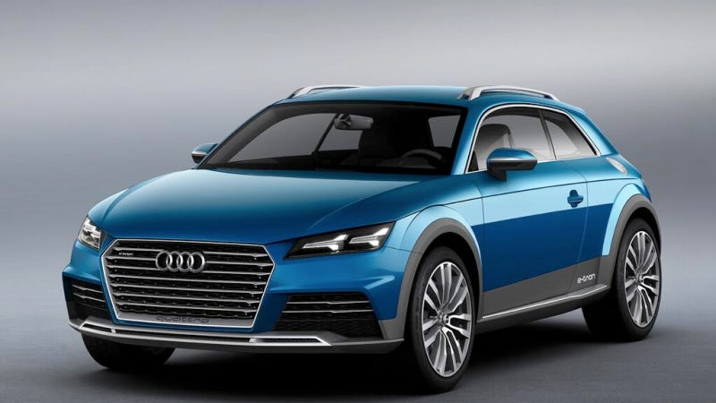 Illustration for article titled Audi Allroad Shooting Brake Concept Is The Future Of Small Audis