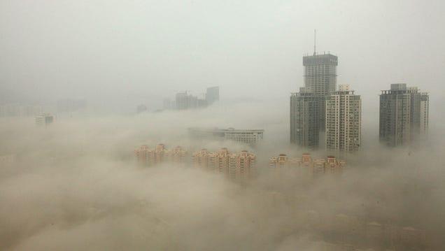 Resultat d'imatges de contaminacion en pekin china