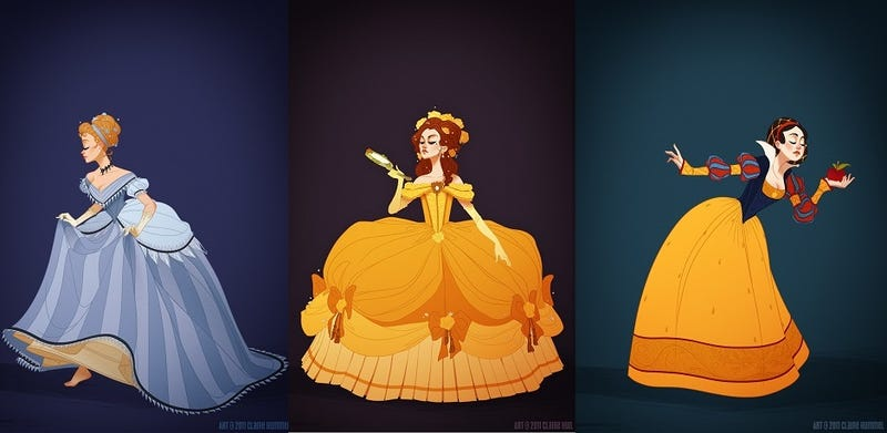 Illustration for article titled Historical Disney Princesses Are Your Next Cosplay Inspiration
