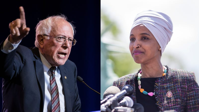 Illustration for article titled Bernie Sanders and Ilhan Omar Are Teaming Up to Cancel All $1.6 Trillion of Existing Student Debt
