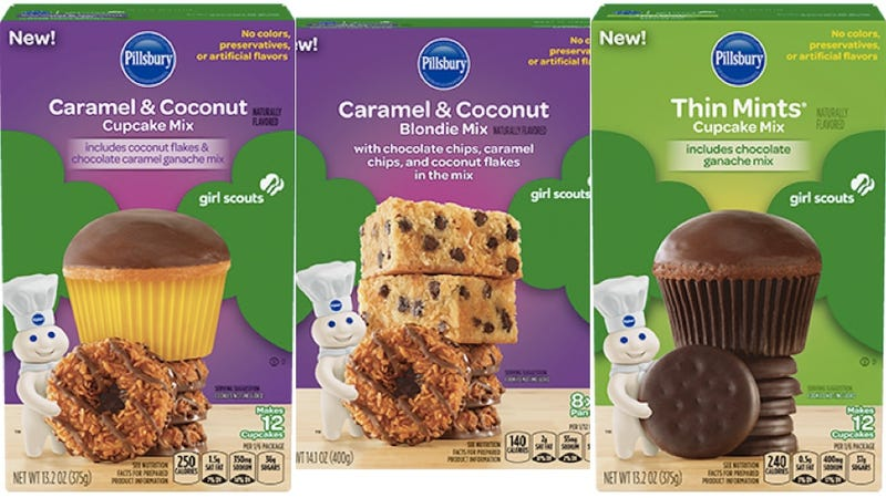 Illustration for article titled Oh, Dear: You Can Now Buy Official Thin Mint Flavored Cupcake Mix