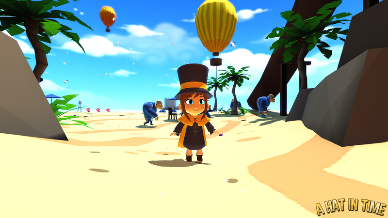Illustration for article titled Interview with Art Director of 3D Collect-a-Thon Platformer, A Hat in Time