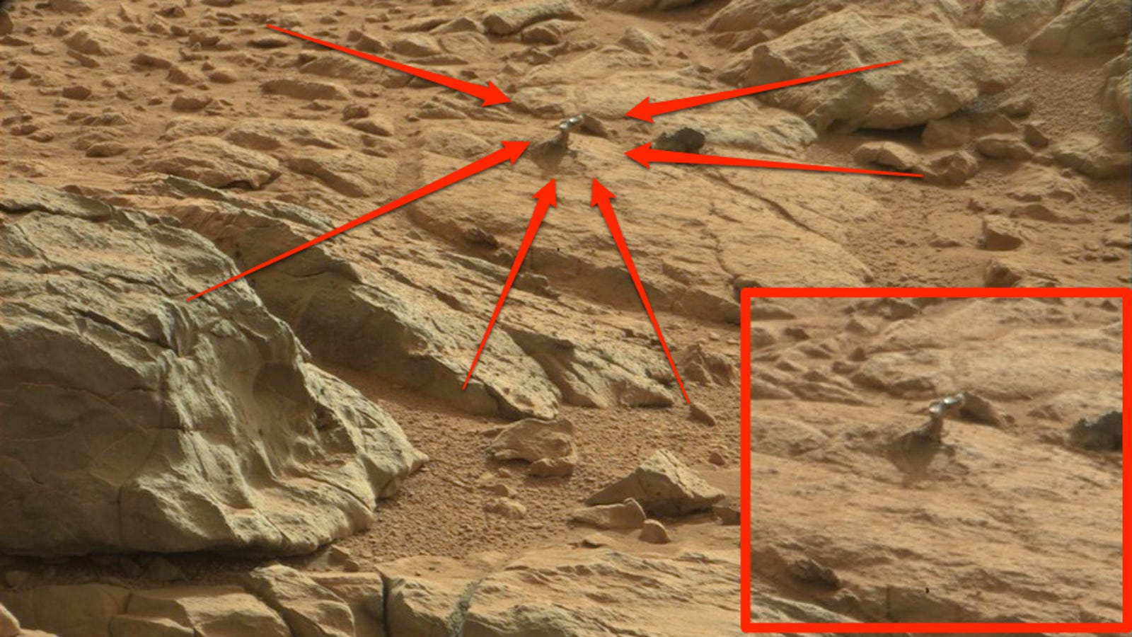 What the Hell Is This Weird Shiny Object on Mars?
