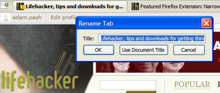 Illustration for article titled Tweak your mouse and tab bar settings with Tab Mix Plus