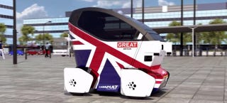 Illustration for article titled This Is the UK's First Driverless Car