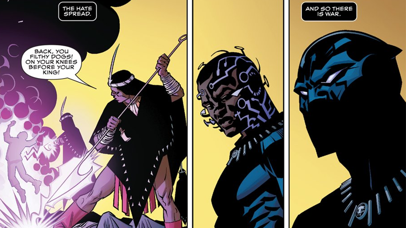 Illustration for article titled Here's an Amazing First Look at Ta-Nehisi Coates and Brian Stelfreeze's Black Panther