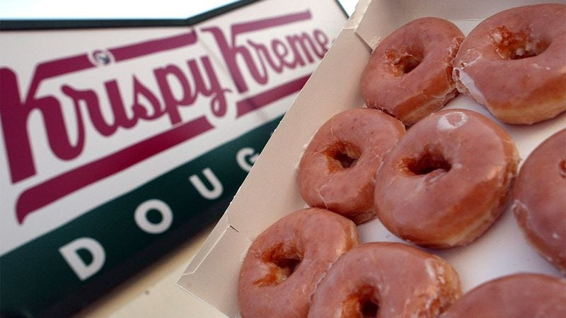Illustration for article titled Disappointing: Krispy Kreme Has Been Revealed As A Hoax