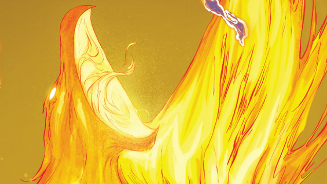 the phoenix force just showed up in the last place you d expect