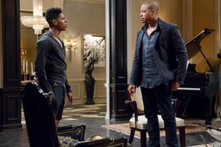 Hakeem (Bryshere Y. Gray) and Lucious (Terrence Howard)Fox