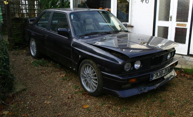 Illustration for article titled Here's The Insanely Rare BMW E30 M3 Barn Find Of Your Dreams
