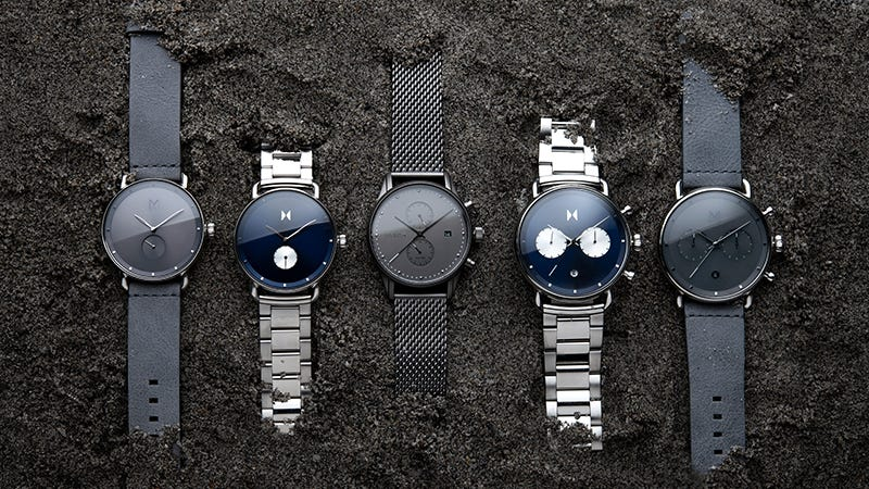 Illustration for article titled Take An Extra $15 Off MVMT Watches, Celebrate Quality Minimalism (From $80)