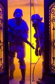New Quarantine Pics Show Day Glo Slumber Party From HellQuarantine Movie Zombie