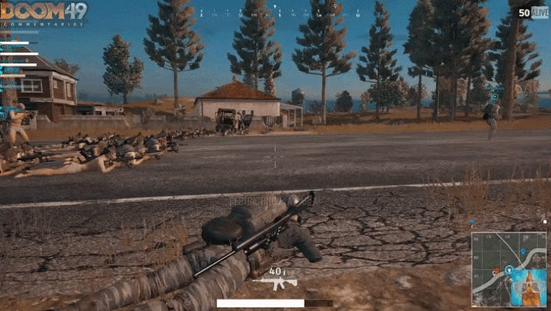 50 Battlegrounds Players Band Together To Test The Game's Limits