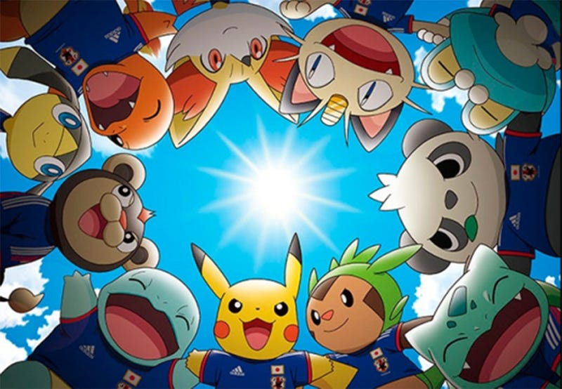 Illustration for article titled Japan Is Bringing Pikachu And Pals To The 2014 World Cup