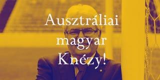 Illustration for article titled Az ausztráliai magyar Knézy bevándorlókkal javítaná az ottani focit!