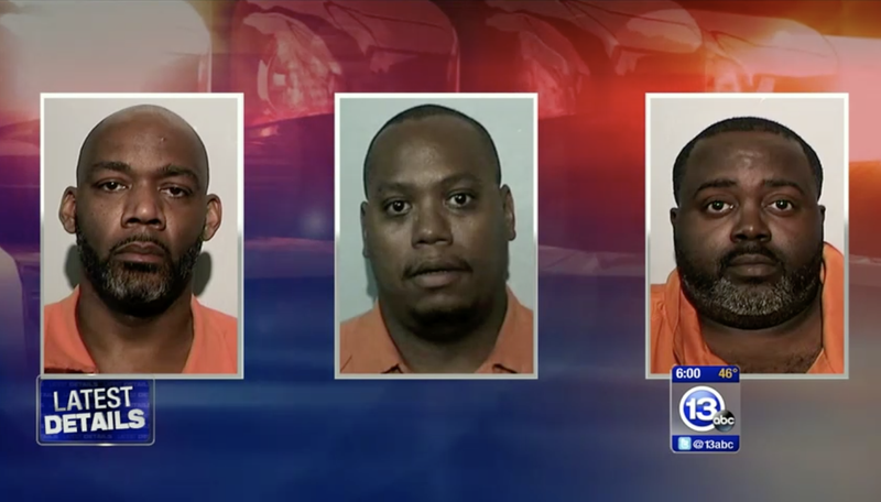 Cordell Jenkins, Kenneth Butler and Anthony Haynes (ABC 13 screenshot)