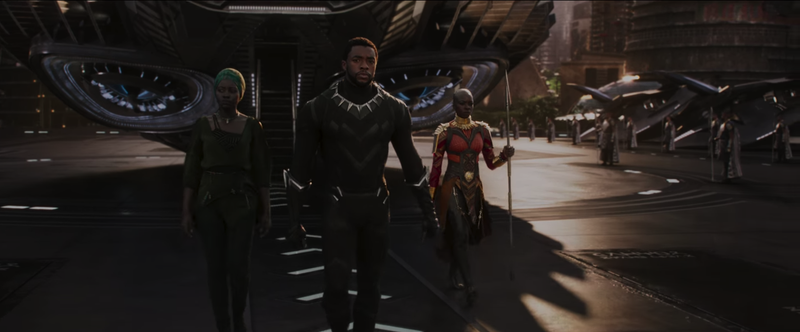Wakanda is beautiful this time of year. (Screenshot: Black Panther)