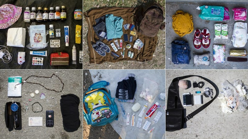 Illustration for article titled Here's What Syrian Refugees Bring On Their Long, Dangerous Journeys