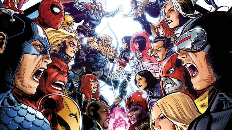 Illustration for article titled This Preview of Avengers vs. X-Men #1 Reads Like a Fighting Game That Needs to Happen