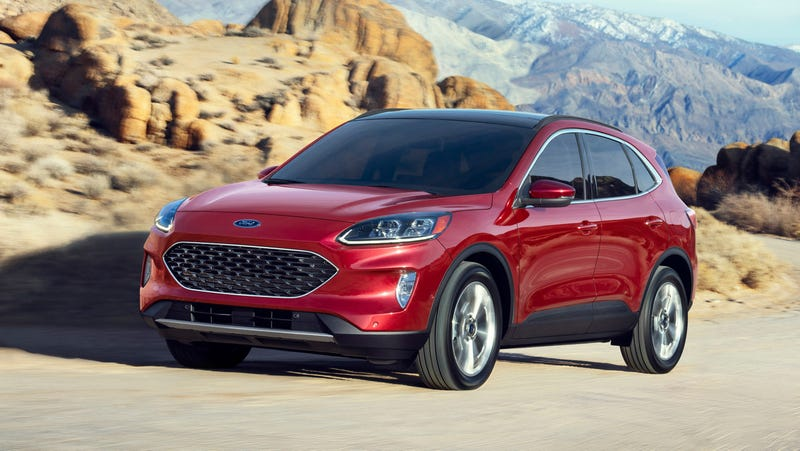 2020 Ford Kuga Plug-In Hybrid Is Coming Next Spring >> The 2020 Ford Escape Has Two Hybrid Options And A Happy Face