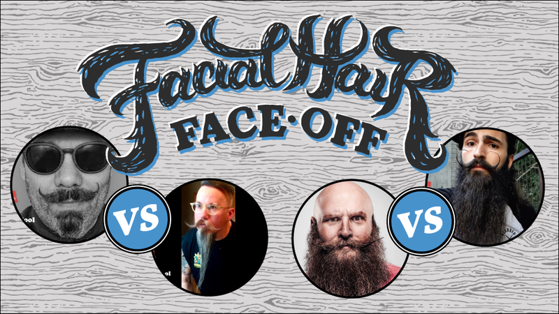 Illustration for article titled These Bearded Heroes are Fighting for Your Votes: Who Will You Send to the Finals?