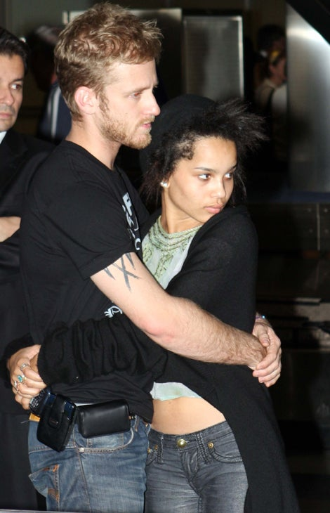 Zoe Kravitz Amp Ben Foster It S So On