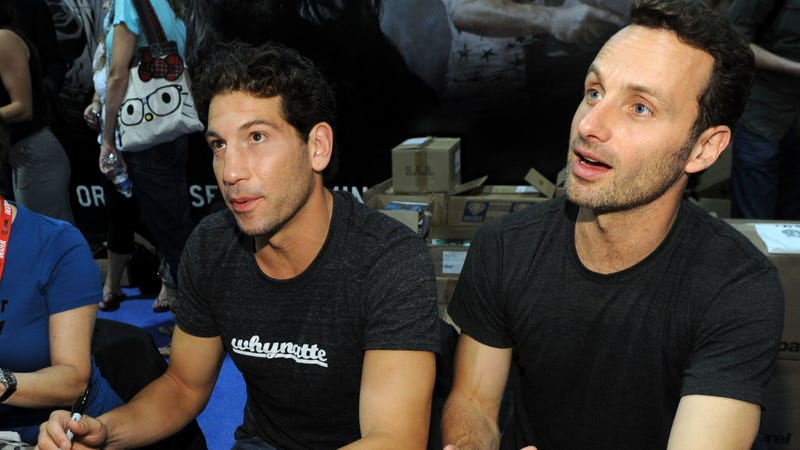 Bernthal and Lincoln as cute kids in 2010