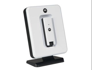 Illustration for article titled Motorola WiMax Dock Boosts Your USB Modem's Reception and Morale