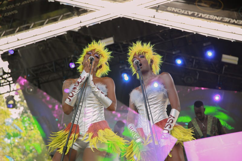 JunglePussy performing at AfroPunk 2019