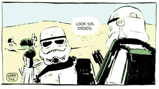 Illustration for article titled One Man Is Drawing A Star Wars Comic For Every Day Of 2015