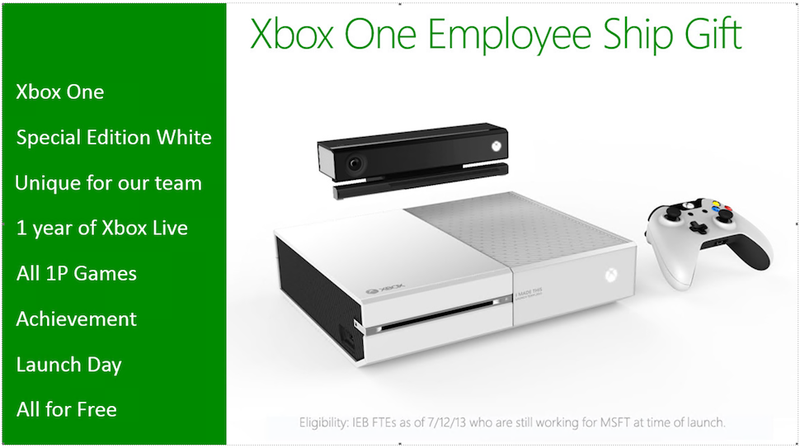 Illustration for article titled This White Xbox One Sure Is Snazzy. Too Bad It's Only For Employees.