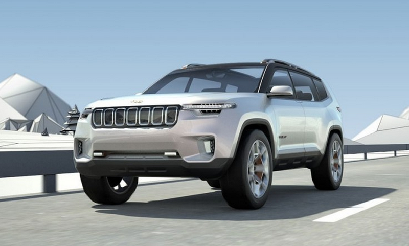 2021 Jeep Grand Cherokee Three-Row And Engine Updates >> The Jeep Yuntu Concept Could Be The Three Row Jeep The World
