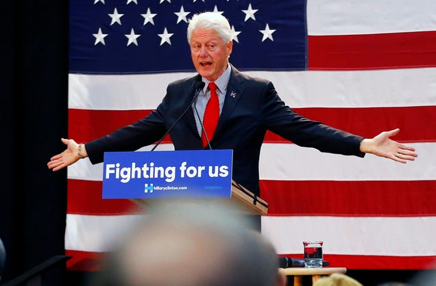 So, How Long Is Bill Clinton Gonna Go Over Tonight?
