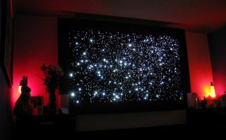 Build a fiber optic star map for out of this world ambient lighting if youre looking for ambient lighting so unique youll likely be the only person in your part of the country to have it this amazing diy fiber optic star gumiabroncs Choice Image