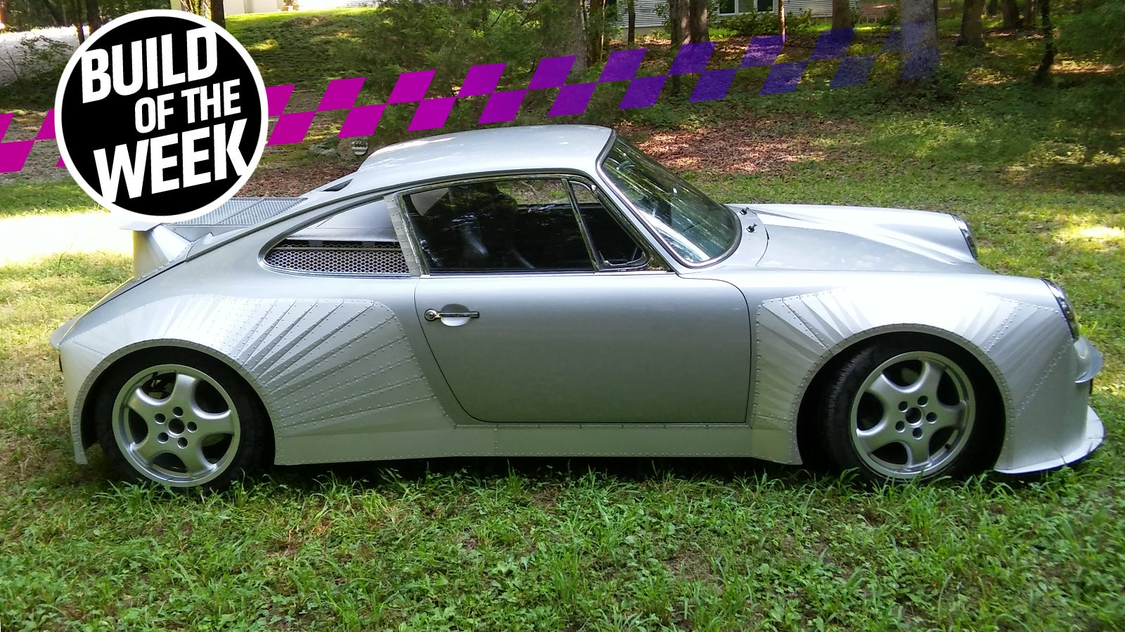 Forget Singer, You Want a Mid-Engine LS-Swapped Porsche