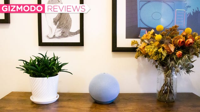 The New Amazon Echo Is Round (Also It Sounds Good)