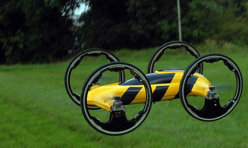 Illustration for article titled El coche volador definitivo es un proyecto de radiocontrol