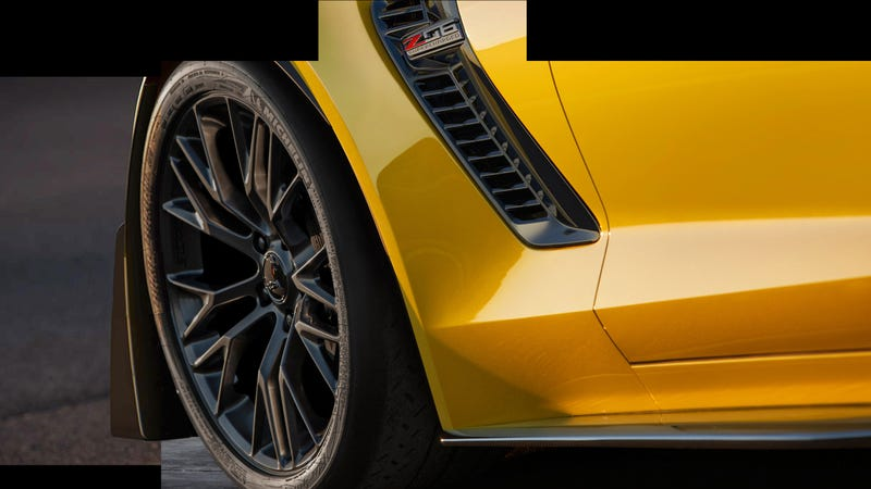 Illustration for article titled Confirmation That The 2015 Chevrolet Corvette Z06 Is Supercharged