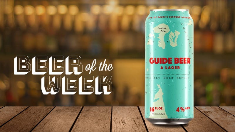 Illustration for article titled Beer Of The Week: SweetWater Guide Beer begs for a spot in your cooler