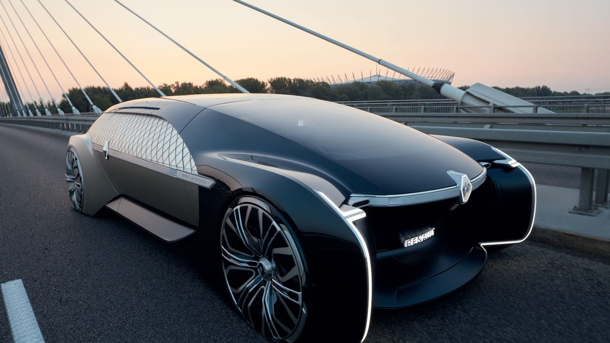 Renault S New Luxury Robo Vehicle Concept Is Gorgeous Vaporware