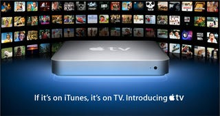 Illustration for article titled Rumor: AppleTV Not Shipping Until March