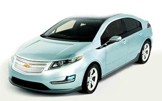 Illustration for article titled First Full Picture Of Chevy Volt?