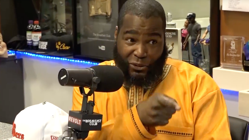 Umar Johnson (The Breakfast Club via YouTube screenshot)